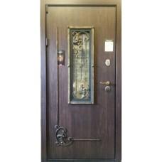 """Входная дверь """"Армада Диамант с ковкой"""""""