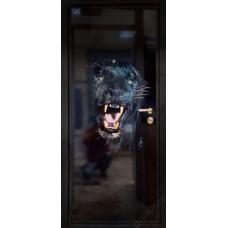 """Входная дверь """"Армада. Фотопанель. Хищники"""""""