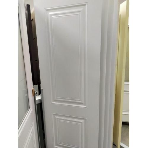Межкомнатные двери в Сочи Скин 2 ДГ Белая эмаль