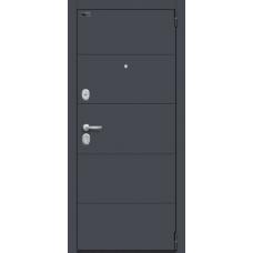 """Входная дверь """"Porta 4/Л22 Graphite Pro/Nordic Oak WW"""""""