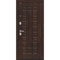 """Входная дверь """"Porta S51.П61 Almon 28/Bianco Veralinga С ЗЕРКАЛОМ"""""""