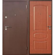 """Входная дверь """"Стройгост 7-2 венге,итальянский орех"""""""